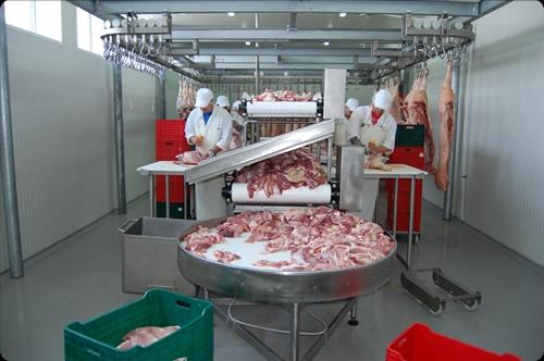 Fabrica de prelucrare a carnii